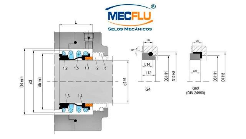 Selo mecânico mg1