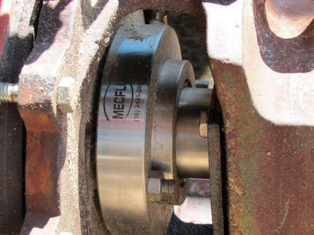 Instalação de selo mecânico