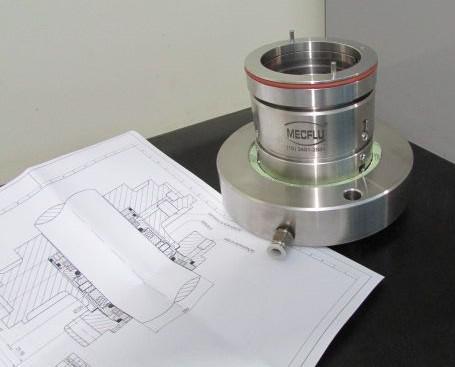 Selo mecânico para alta temperatura