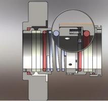 Selo mecânico alta pressão